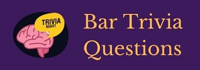 Featured image for a page of bar trivia questions and answers.