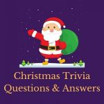 Featured image for a page of Christmas trivia questions and answers.